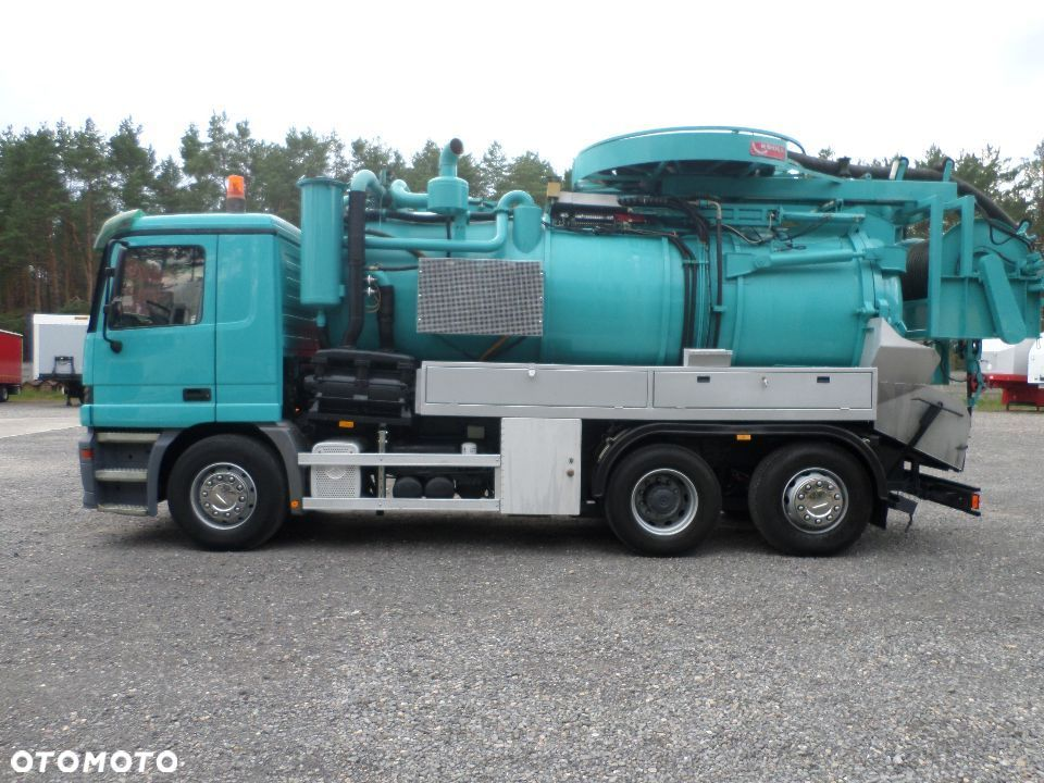 Mercedes-Benz Actros 2540L Kroll WUKO Water recycling - 4