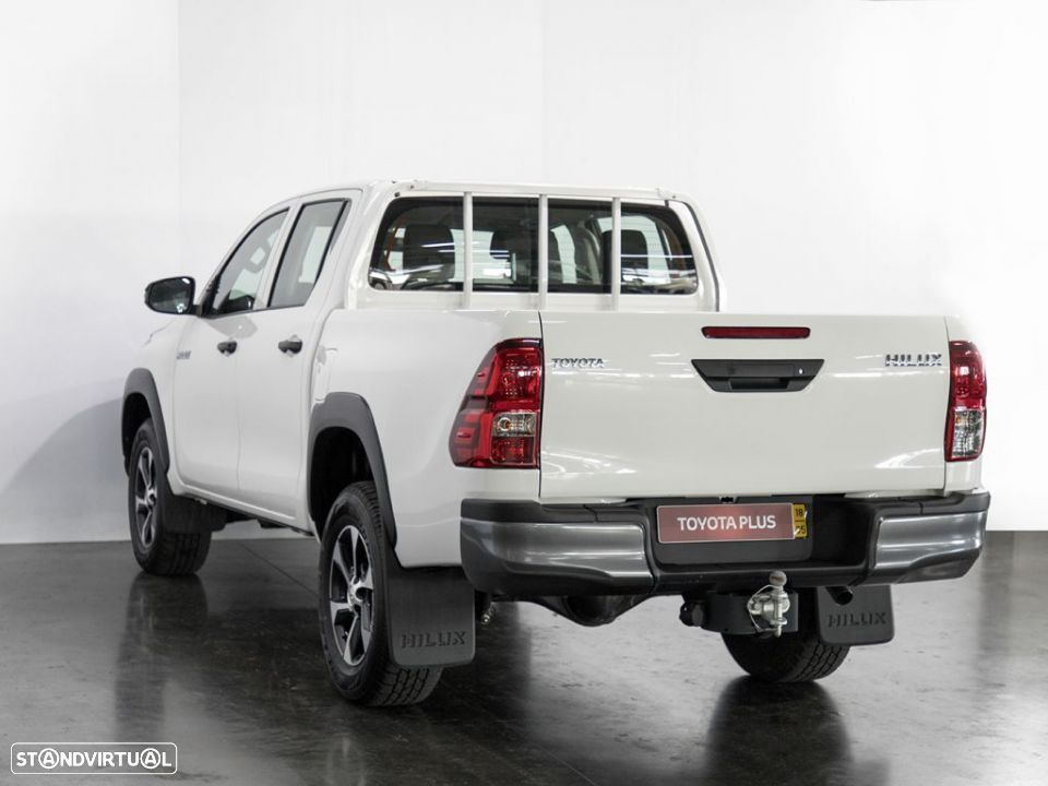 Toyota Hilux 4x4 Cabina Dupla Cx Metálica - 2