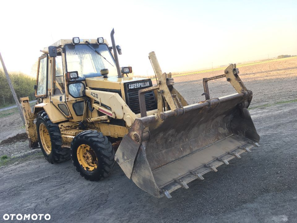 Cat 428  Caterpillar 428 CAT nie CAT 432 , nie JCB 3CX 4CX ,CASE 580SM 580SR - 1