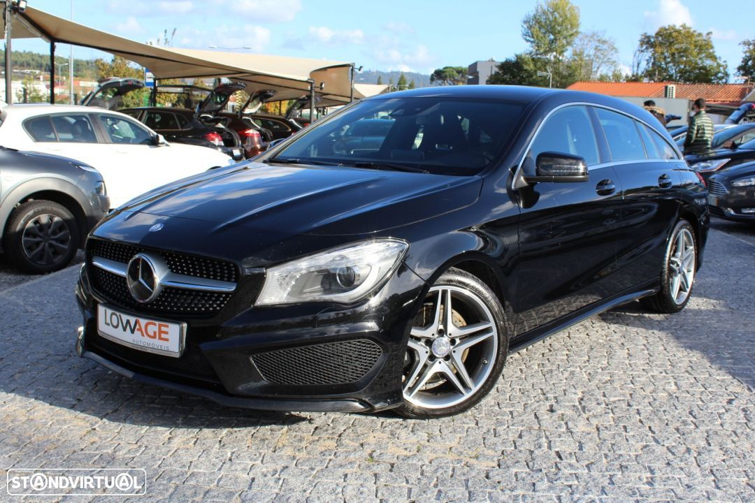 Mercedes-Benz CLA 220 CDI Shooting Break AMG Auto - 11