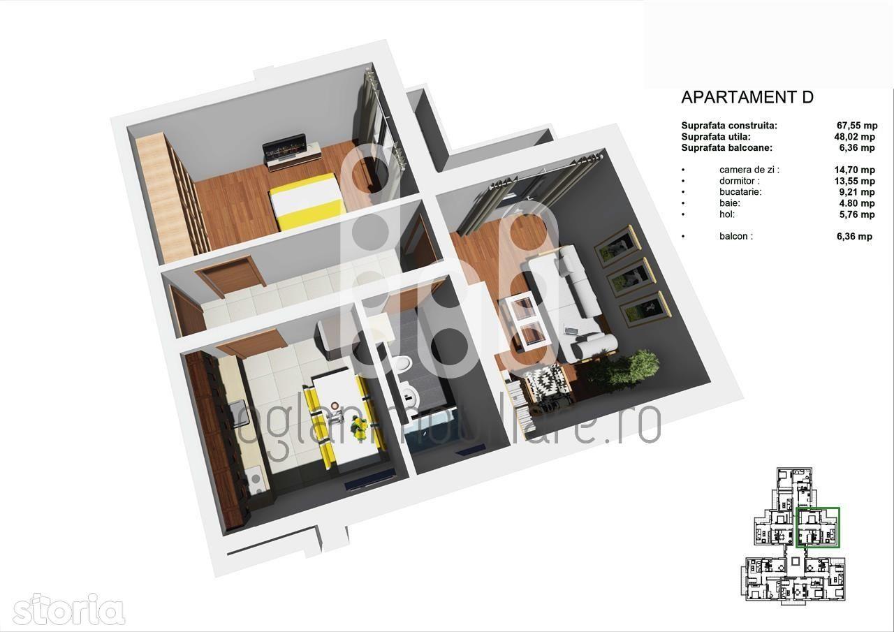 Apartament de vanzare, Sibiu (judet), Strada Deventer - Foto 4