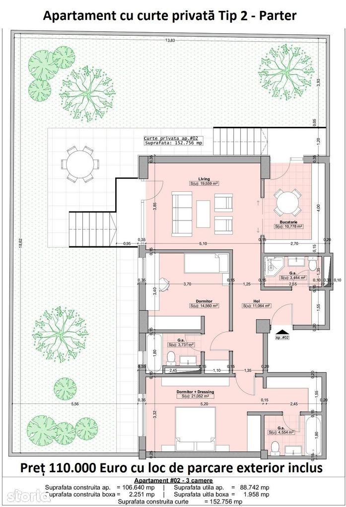 Apartament de vanzare, Constanța (judet), Strada Barbu Catargiu - Foto 1