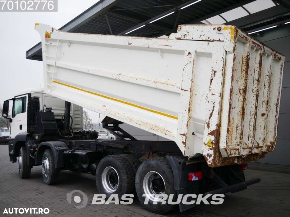 MAN TGS 41.400 M 8X4 27m3 Euro 6 Manual Big-Axle Steelsuspension - 2