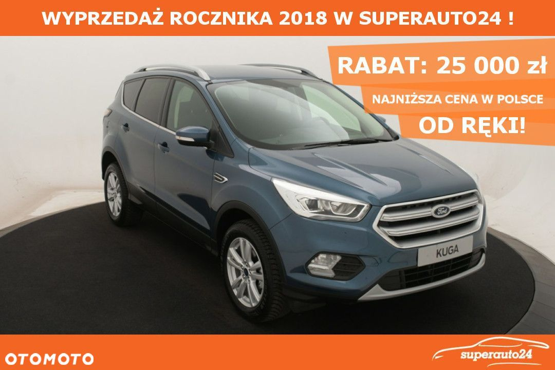Ford Kuga 1.5 EcoBoost 150KM'Trend'|ALU+Design2+Parking1+Opcje Super Cena!!! - 1