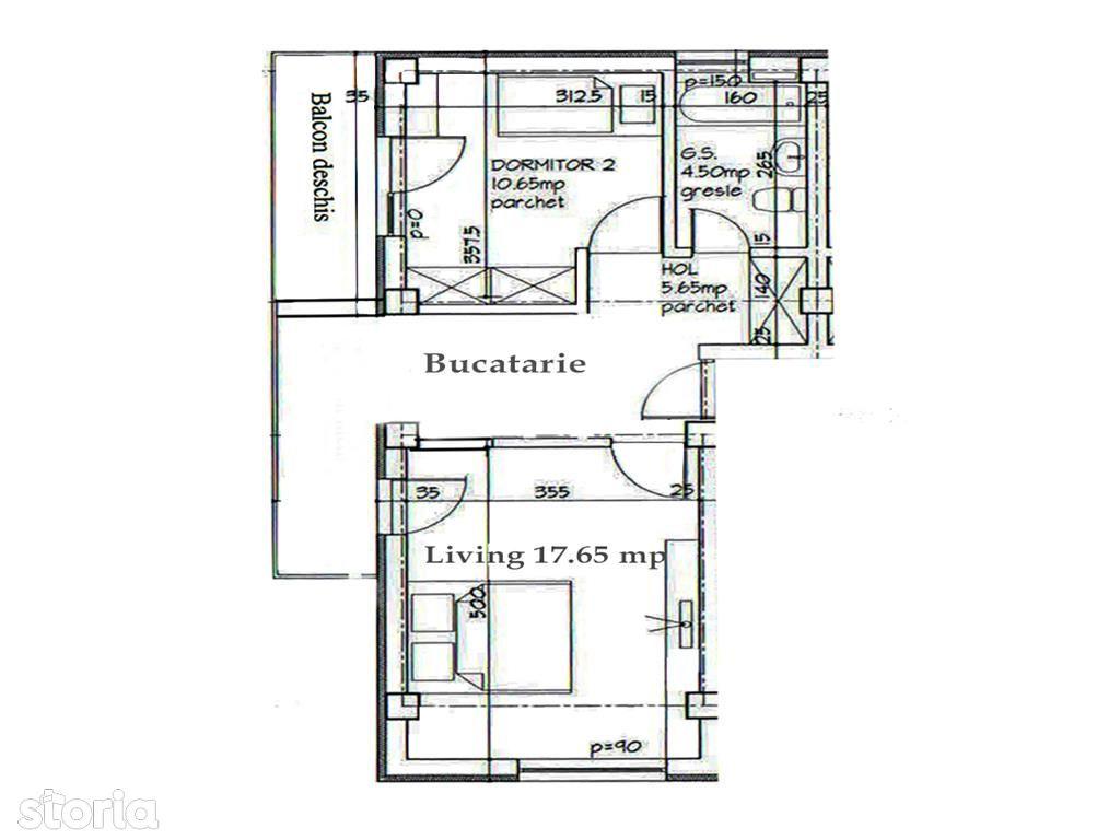 Apartament de vanzare, Iași (judet), Strada Toma Cozma - Foto 2