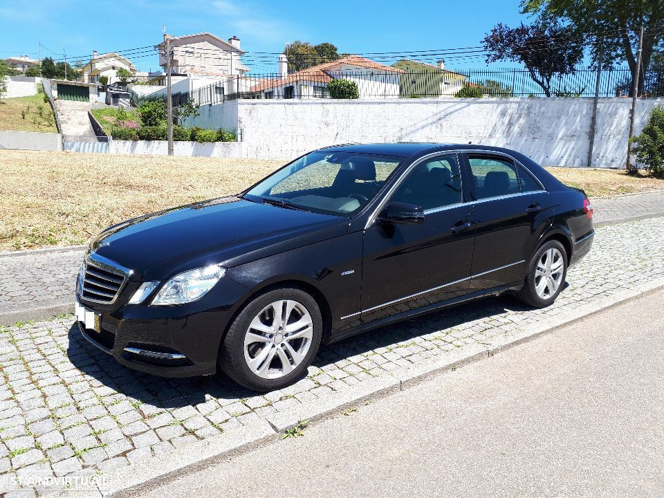Mercedes-Benz E 250 CDI  avantgarde Blue Efficiency 130000km - 6