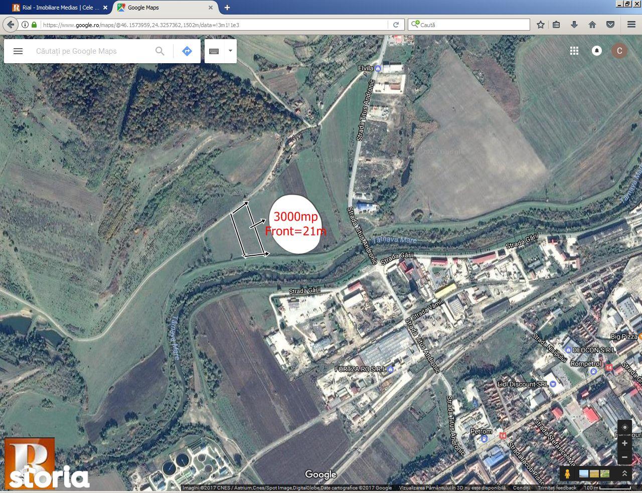 Teren de Vanzare, Sibiu (judet), Mediaş - Foto 1