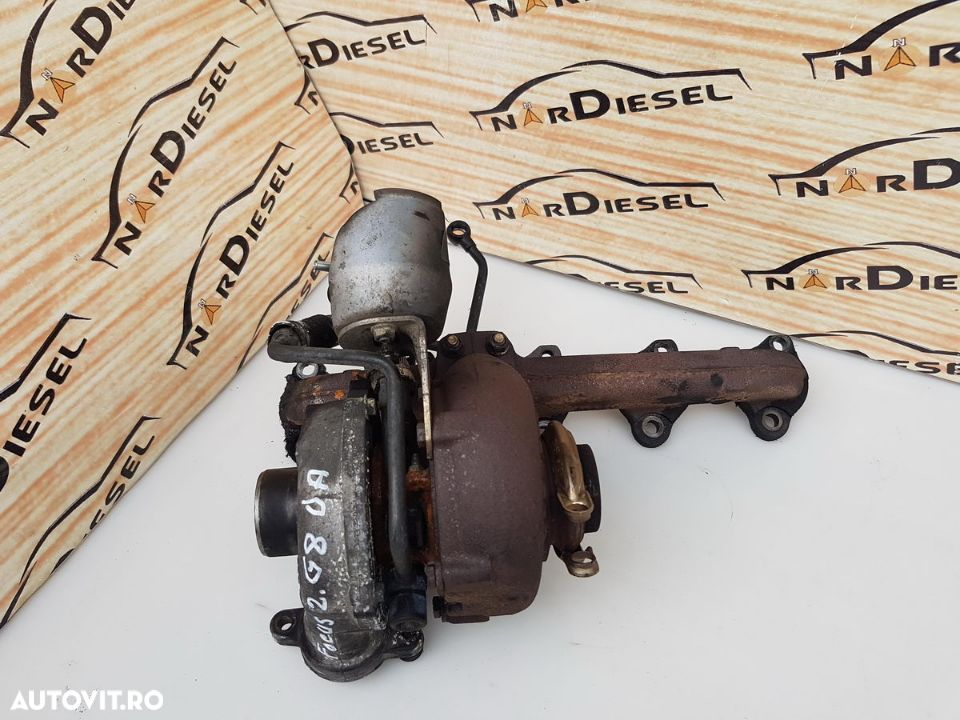 Turbina - Ford Focus 2 2005 - 1.6 D (G8DA) - 9657248680 / GT1544V - 1