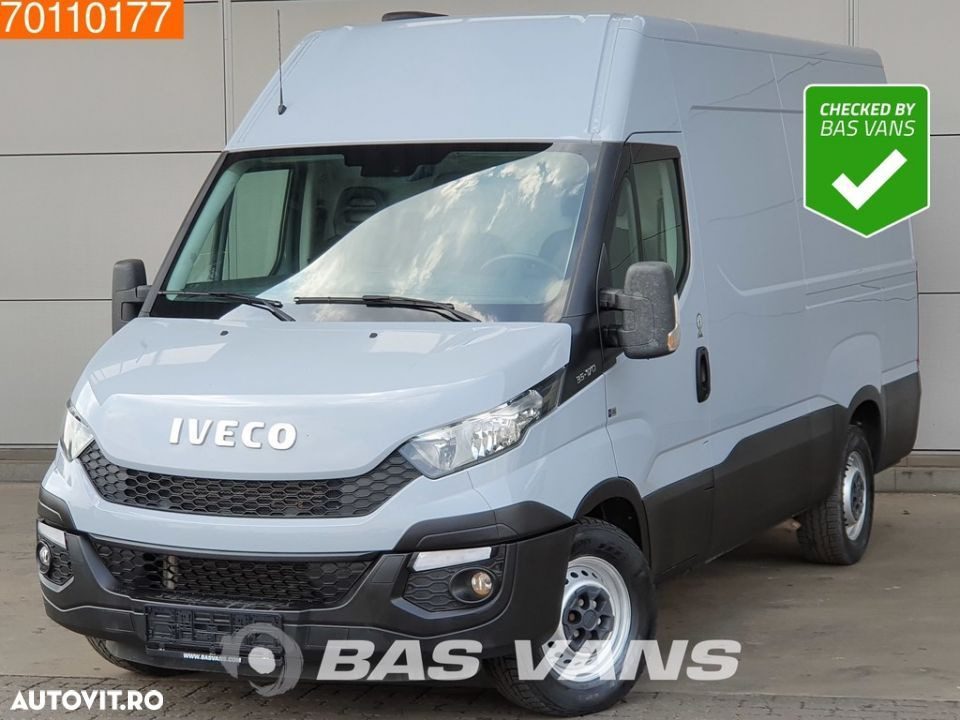 Iveco Daily 35S17 3.0L 170pk Hi Matic Automaat Luchtvering Airco L2H2 12m3 Airco Trekhaak Cruise - 1
