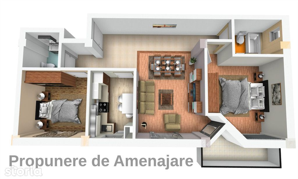 Apartament de vanzare, Argeș (judet), Strada Alexandru Kirițescu - Foto 6