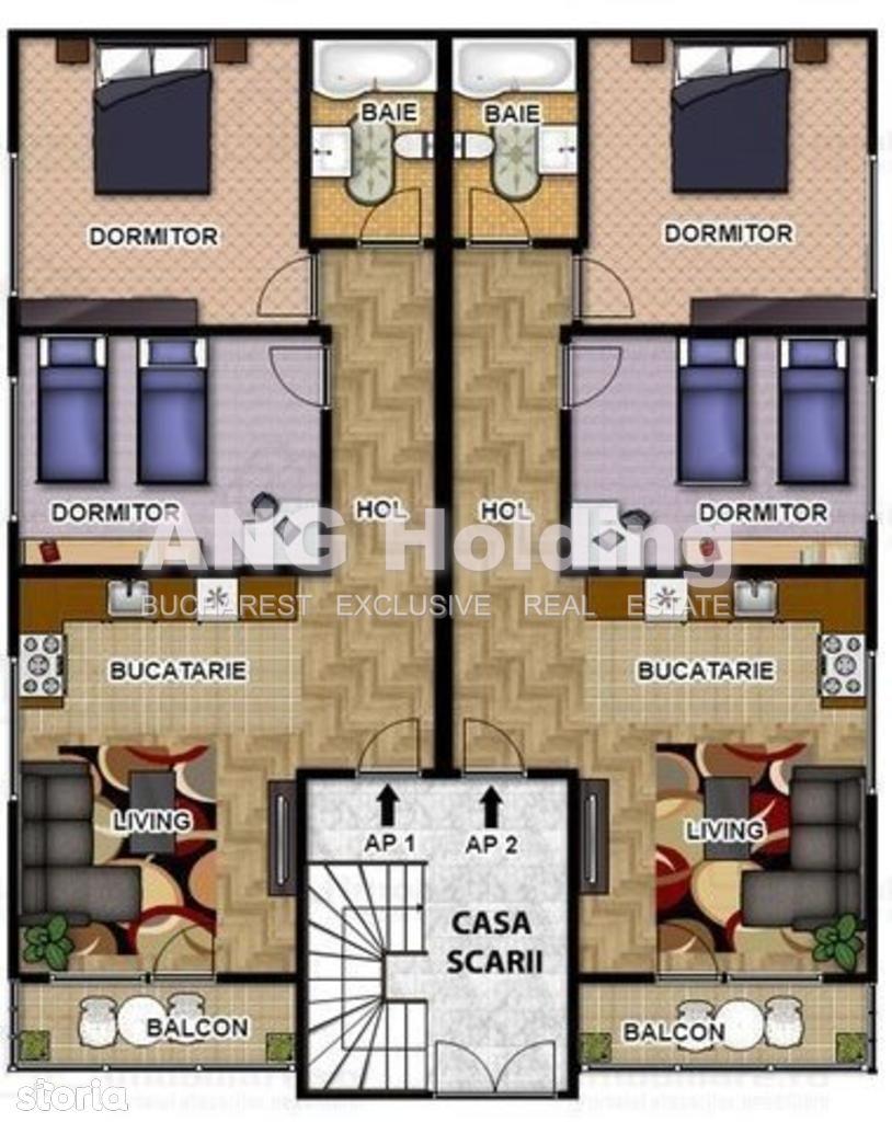 Apartament de vanzare, București (judet), Drumul Lunca Merilor - Foto 4