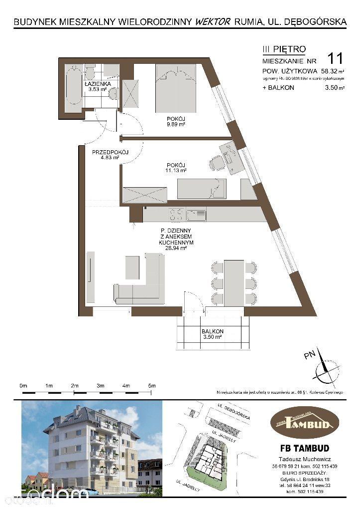 Mieszkanie na sprzedaż, Rumia, wejherowski, pomorskie - Foto 1019