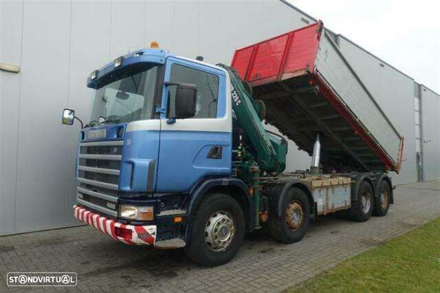 Scania R124.400 8x4 Manual Full Steel Hub Reduction Hia - 1