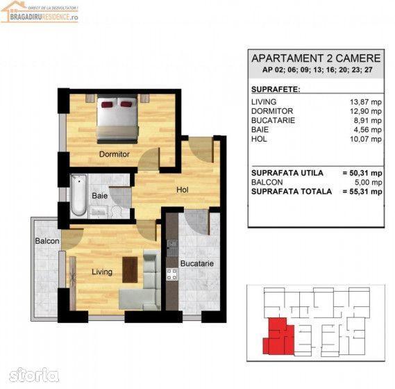 Apartament de vanzare, Ilfov (judet), Strada Gliei - Foto 5