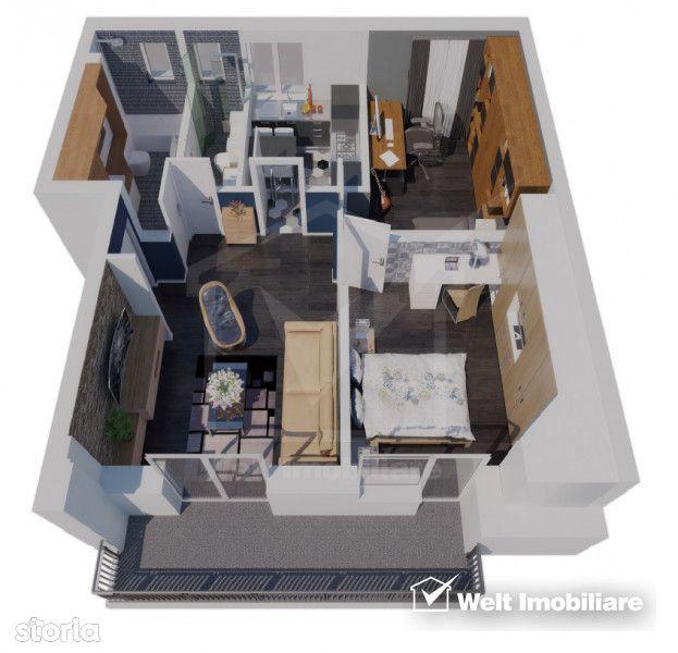 Apartament de vanzare, Cluj (judet), Suceagu - Foto 1