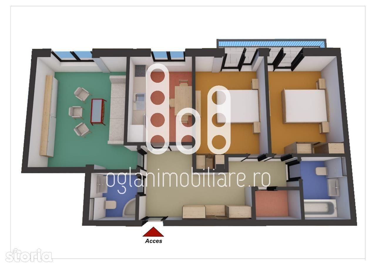 Apartament de vanzare, Sibiu (judet), Strada Ovăzului - Foto 2