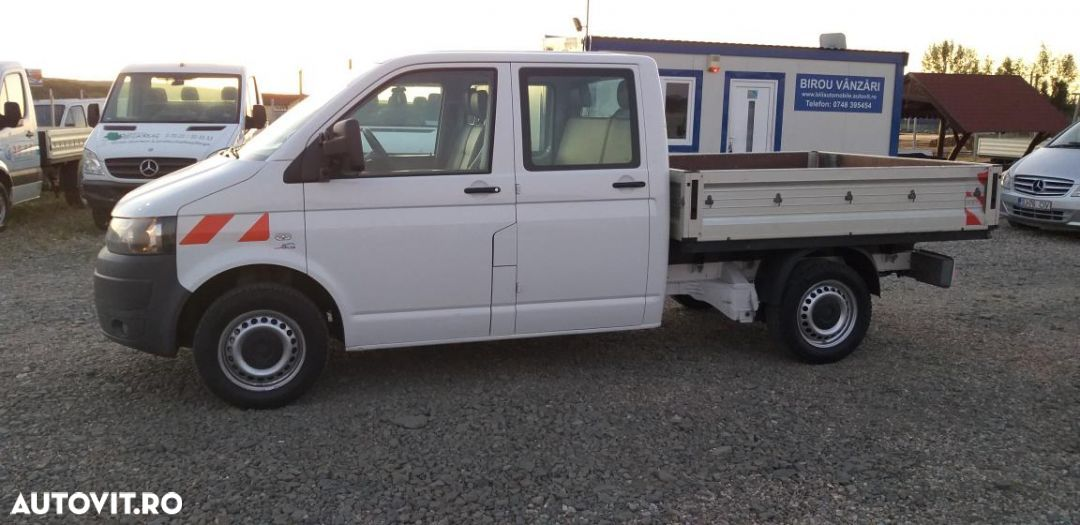 Volkswagen T5 doka face lift  euro 5 an 2011 CLIMA motor 2L 140 cp vanzari si in rate. - 1