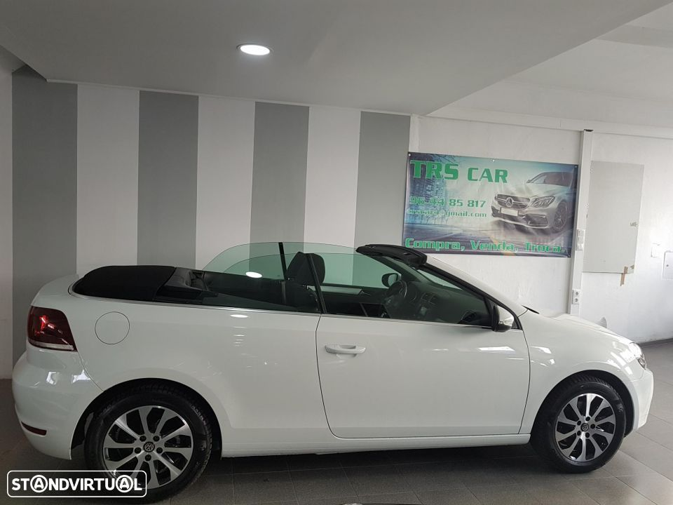 VW Golf Cabriolet 1.6 TDI Bluemotion - 7