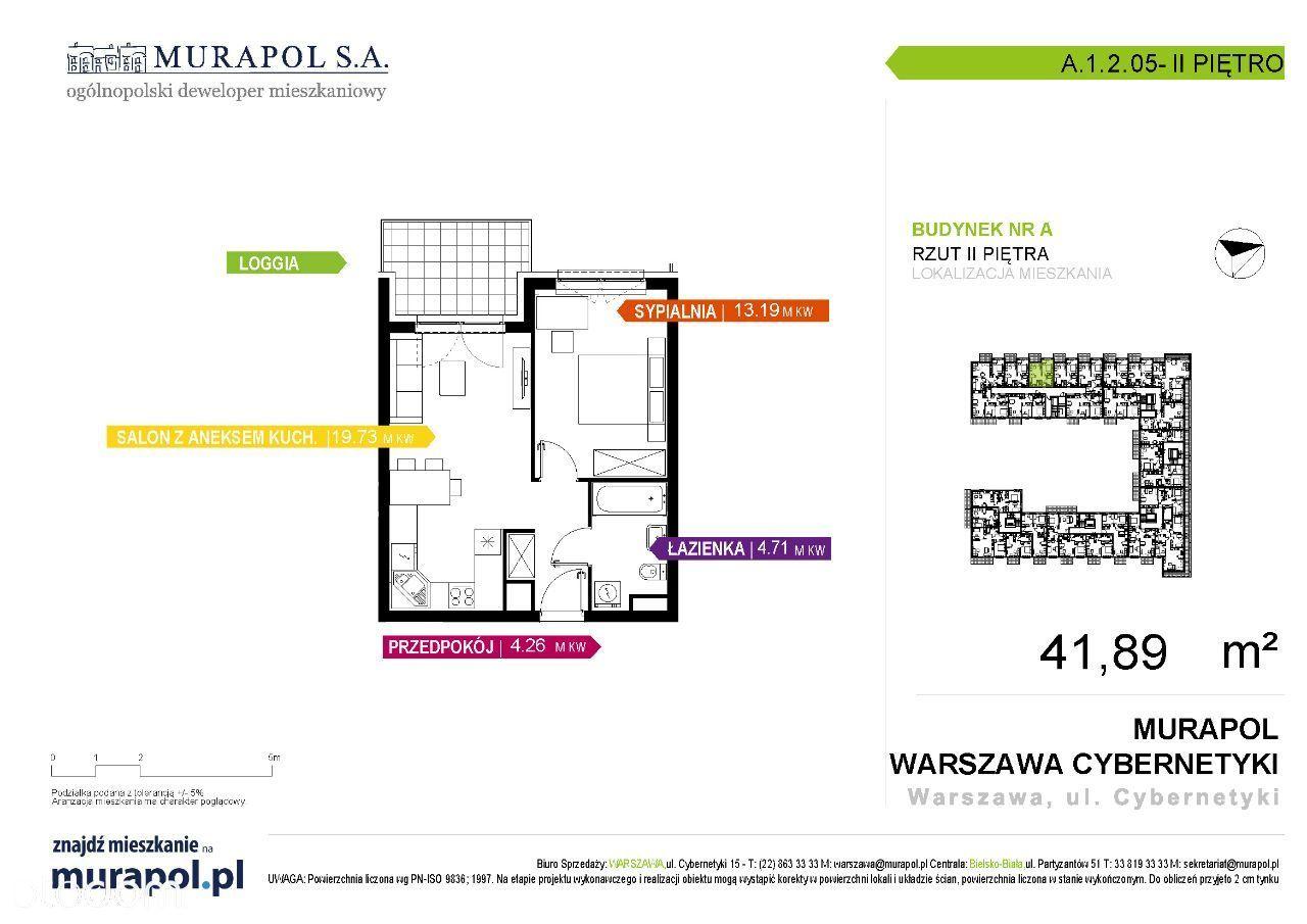 Mieszkanie na sprzedaż, Warszawa, Górny Mokotów - Foto 1