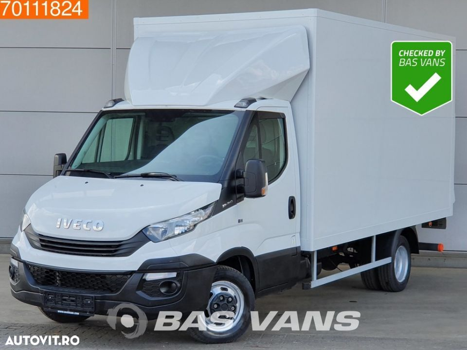 Iveco Daily 35C16 160pk Bakwagen Laadklep Koffer LBW 19m3 Airco Cruise - 1