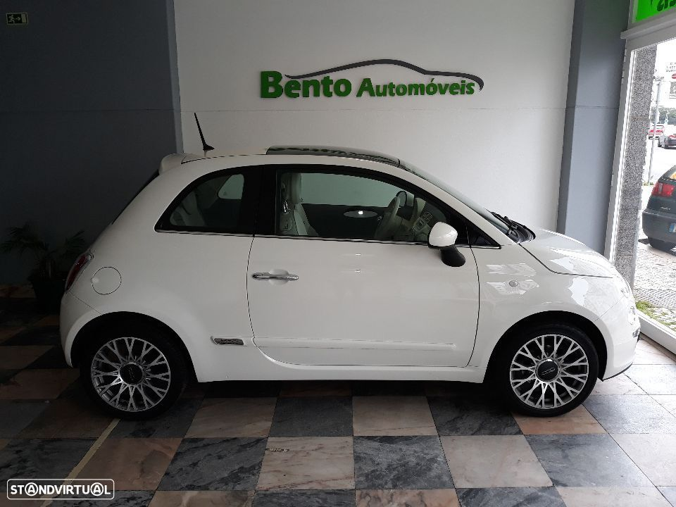 Fiat 500 1.2 New Lounge Tecto Panoramico - 2