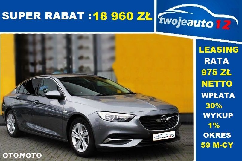 Opel Insignia Enjoy 1.5 165KM MT6 S/S Pakiet Enjoy Plus i Wizualny - 7