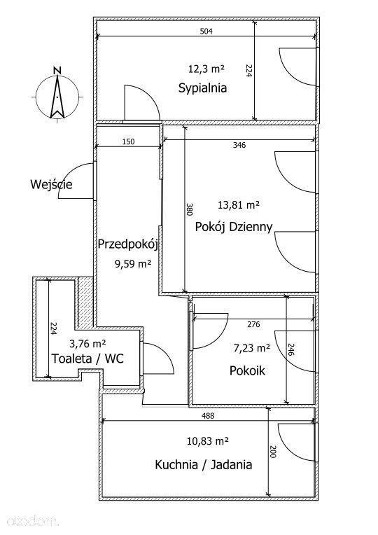 Mieszkanie na sprzedaż, Wałbrzych, dolnośląskie - Foto 2