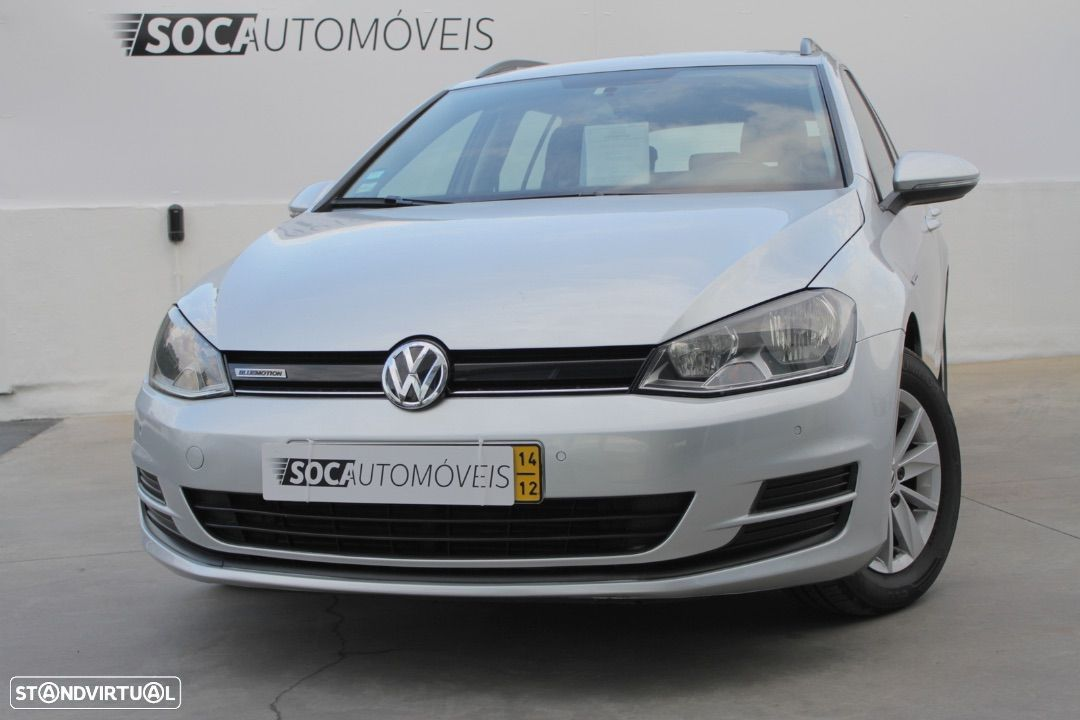 VW Golf Variant V.1.6 TDi BlueMotion Confortline - 1