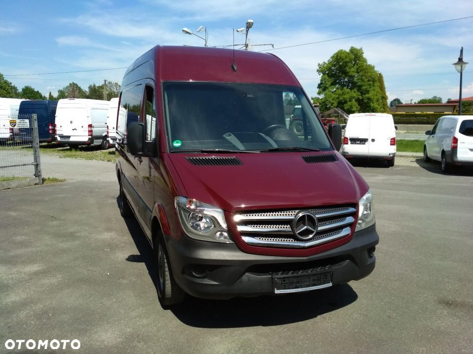 Mercedes-Benz Sprinter 216 CDI średni lift klima - 1