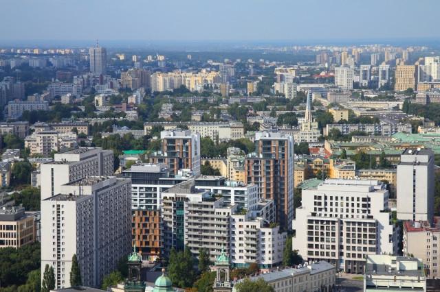Metr kwadratowy najdroższy w Warszawie