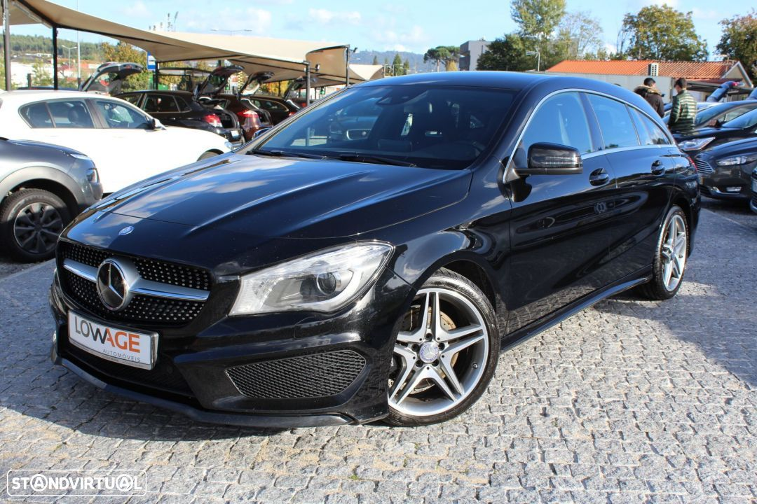 Mercedes-Benz CLA 220 CDI Shooting Break AMG Auto - 24