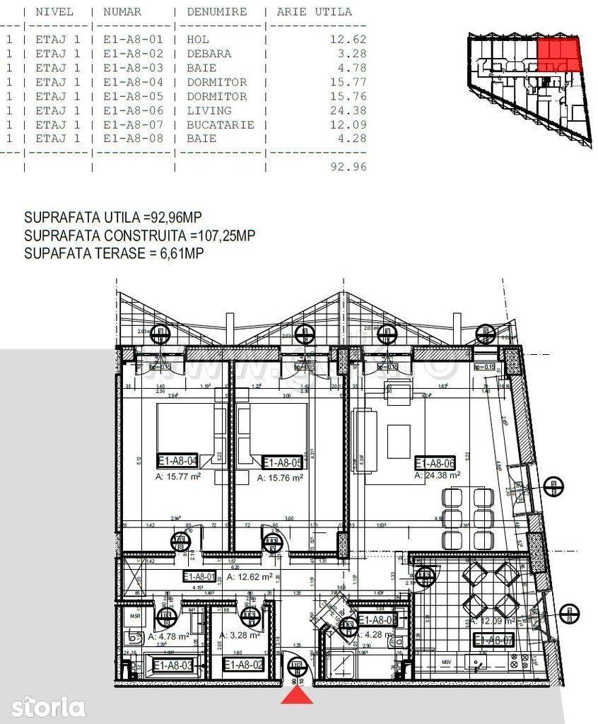 Apartament de vanzare, București (judet), Strada Câmpul Pipera - Foto 14
