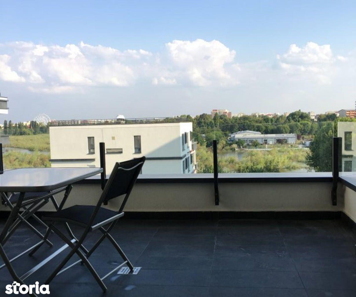 Apartament de inchiriat, București (judet), Strada Barbu Văcărescu - Foto 16