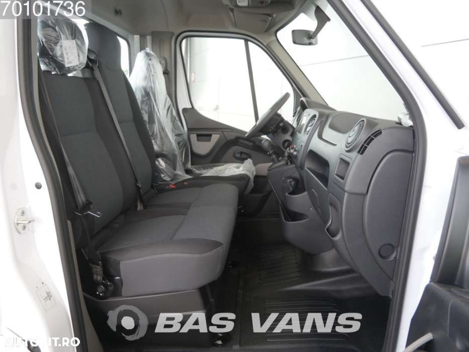 Renault Master chassis cabine 165PK Dubbellucht Navigatie Airco 3... - 7