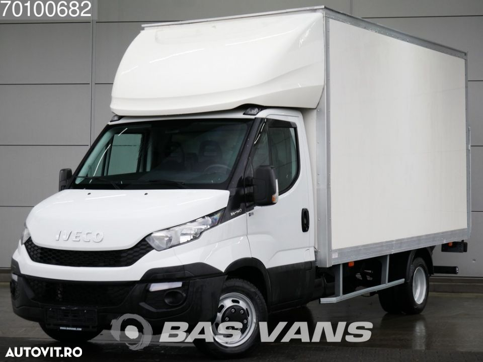 Iveco Daily 35C15 Bakwagen Laadklep 230cm 20m3 Airco Cruise - 1