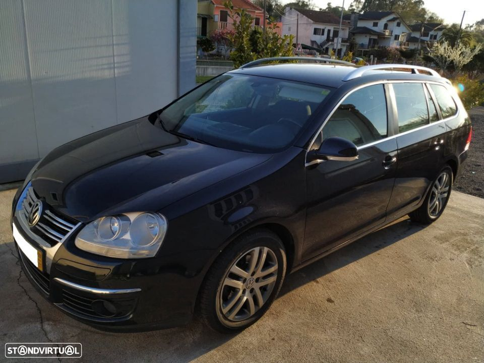 VW Golf Variant 1.9TDi Bluemotion - 1