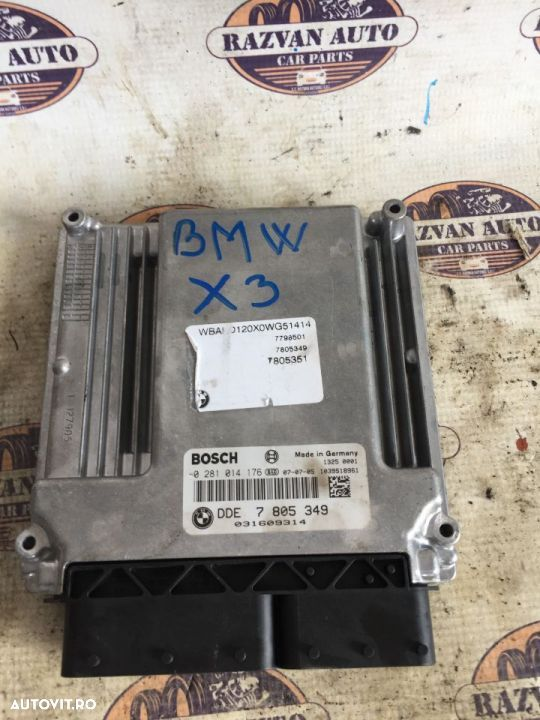 Calculator motor BMW X3 cod 7805349 - 1