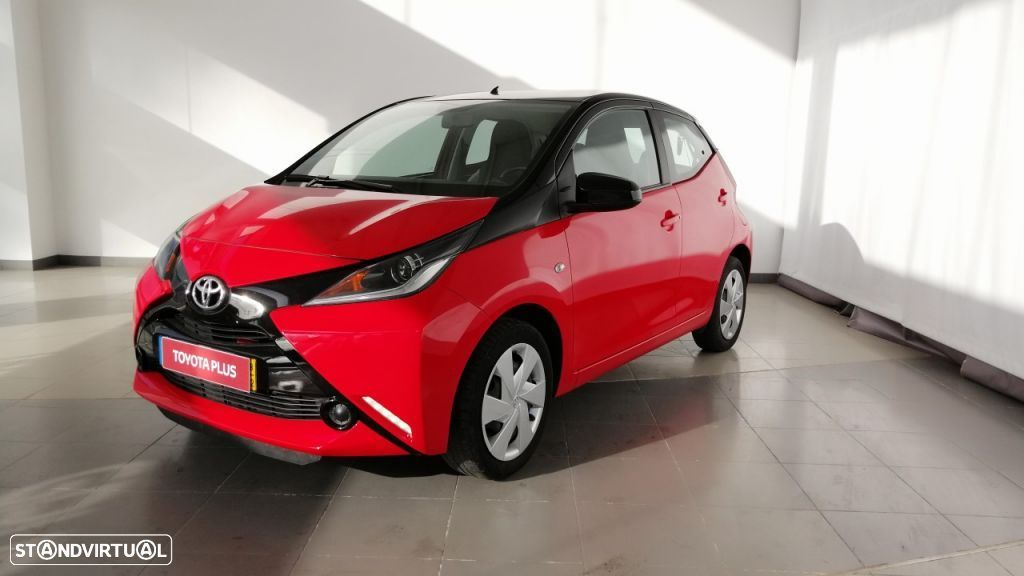 Toyota Aygo 5P 1.0 x-play + A+ x-touch - 2
