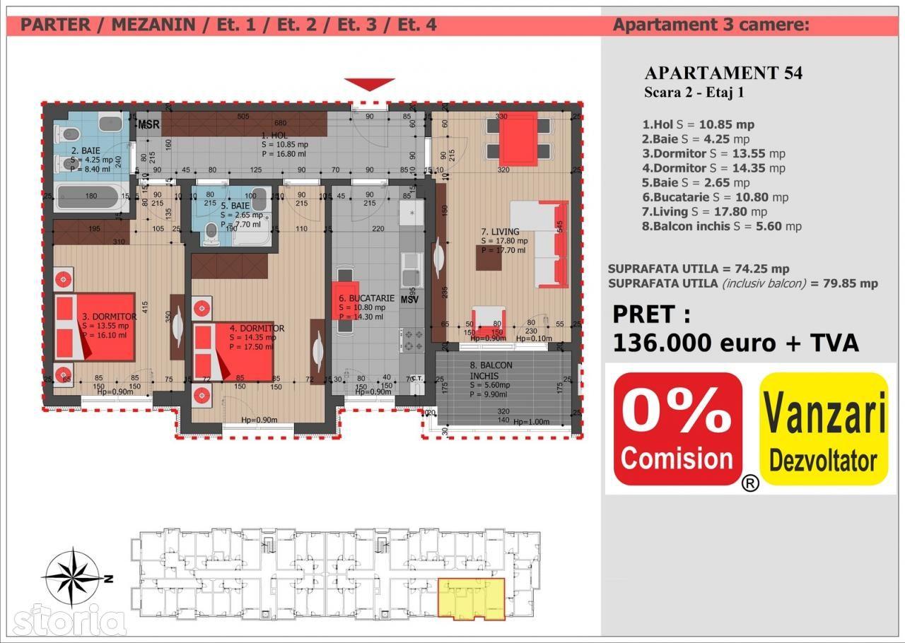 Apartament de vanzare, Bucuresti, Sectorul 3, Decebal - Foto 3