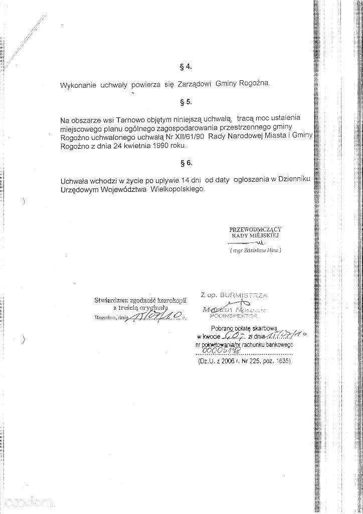 Działka na sprzedaż, Rogoźno, obornicki, wielkopolskie - Foto 16