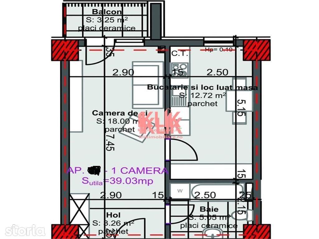 Apartament de vanzare, Cluj (judet), Strada Luncii - Foto 1