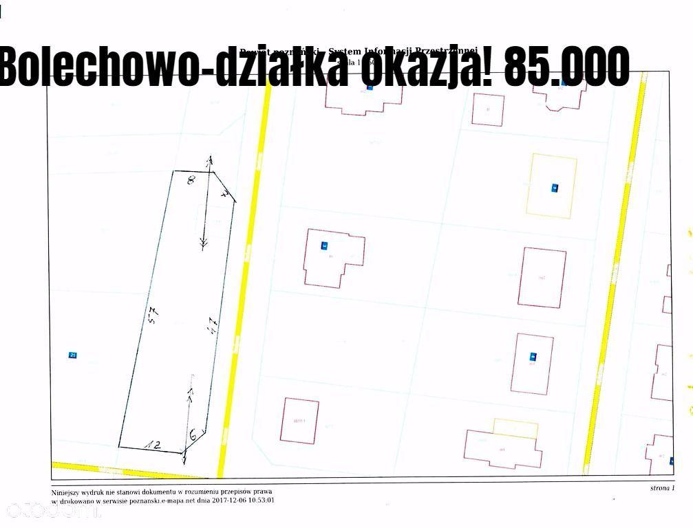 Działka na sprzedaż, Bolechowo-Osiedle, poznański, wielkopolskie - Foto 1