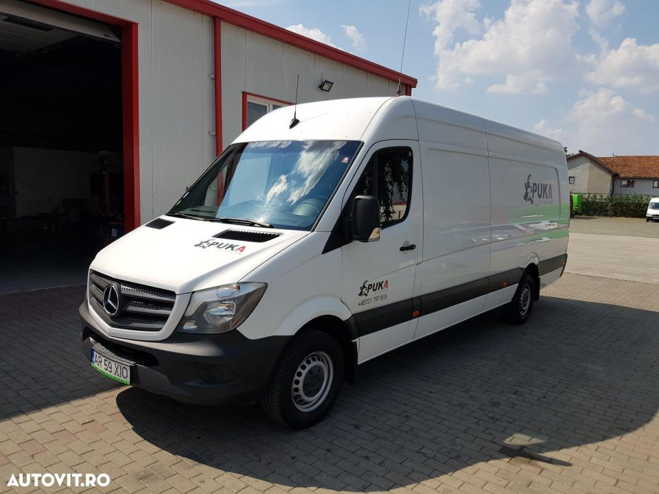 Mercedes-Benz Sprinter 316 Extralung 2016 155mc - 1