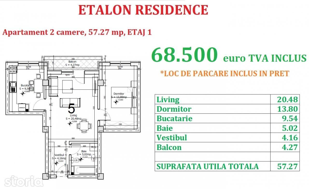 Apartament de vanzare, Ilfov (judet), Strada Maramureș - Foto 2