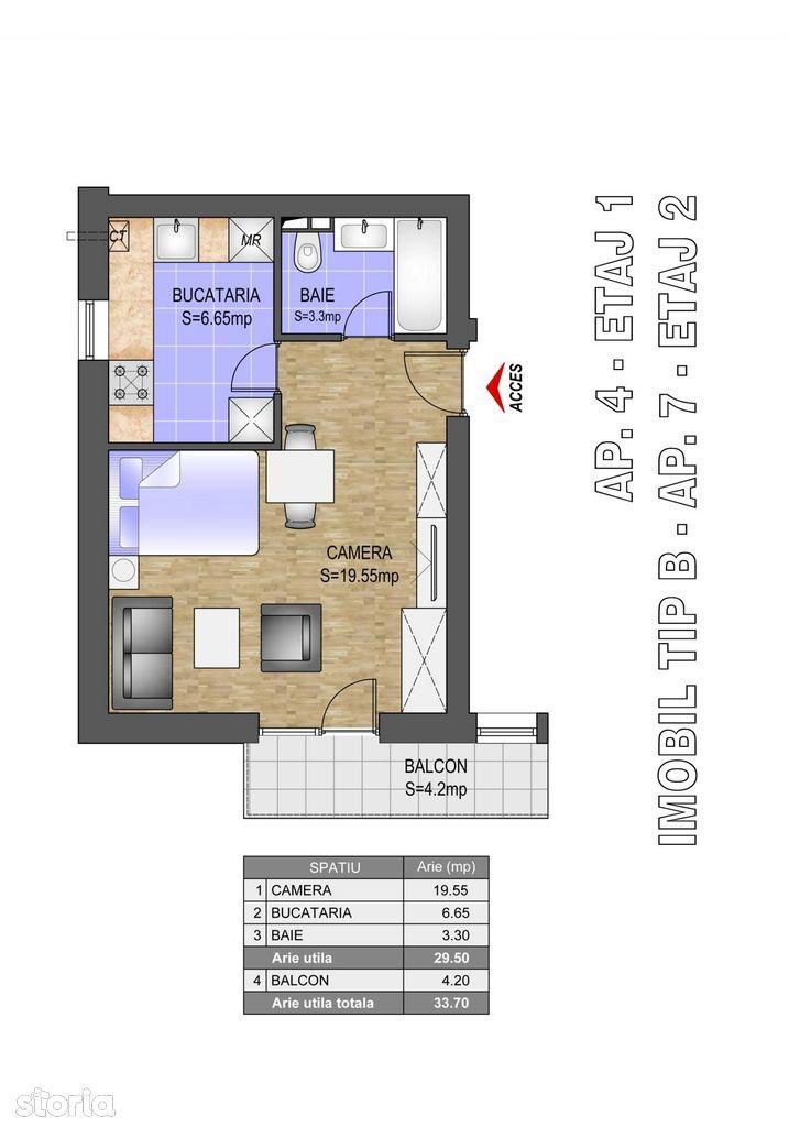 Apartament de vanzare, Popesti-Leordeni, Bucuresti - Ilfov - Foto 2
