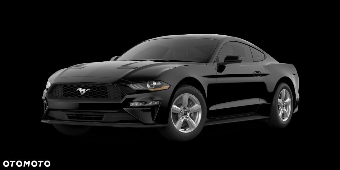 Ford Mustang Mustang 2.3 EcoBoost 290 KM, A10 Mustang Fastback Mica Shadow Black - 1