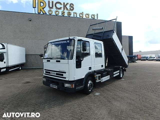 Iveco Eurocargo 80E14 + TIPPER + MANUAL + 7 SEATS - 1