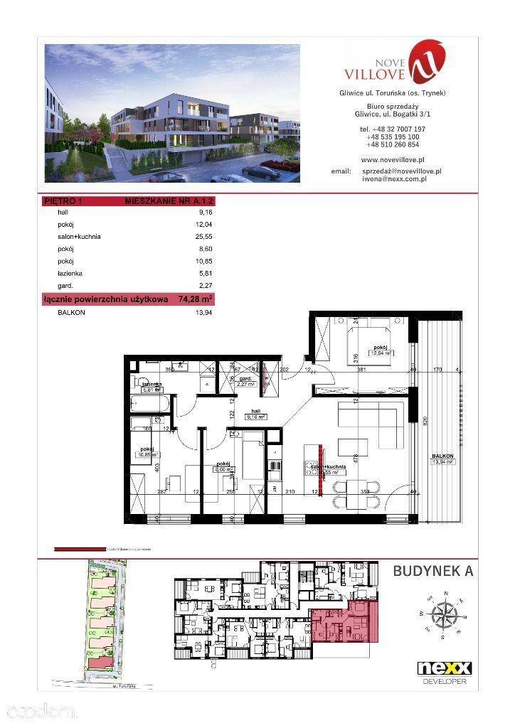 Mieszkanie na sprzedaż, Gliwice, Trynek - Foto 2