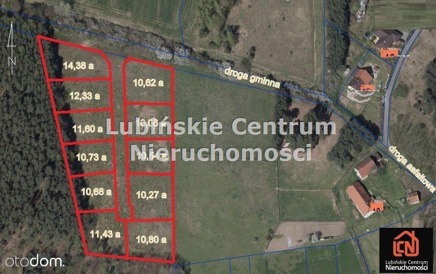 Działka na sprzedaż, Pieszków, lubiński, dolnośląskie - Foto 1