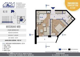2 - pokojowe mieszkanie M99